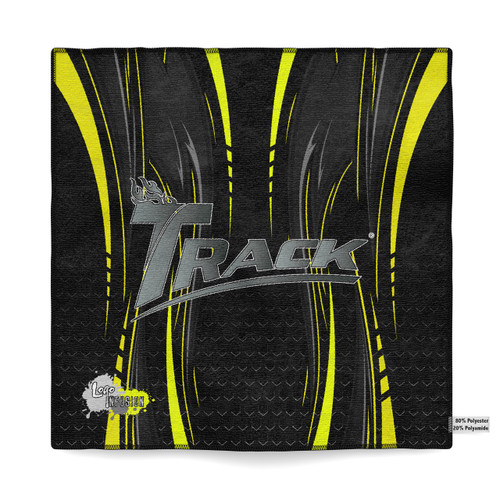 Track Yellow Dagger Sublimated Towel