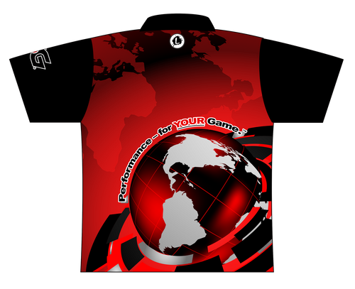 900 Global EXPRESS Dye Sublimated Jersey Style 0136