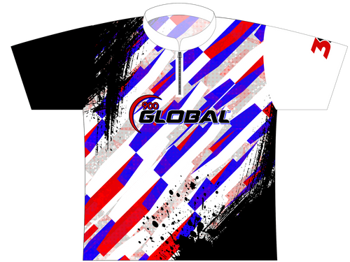 900 Global EXPRESS Dye Sublimated Jersey Style 0155