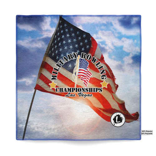 Military Bowling Championships Microfiber Towel - MBC18_08MT