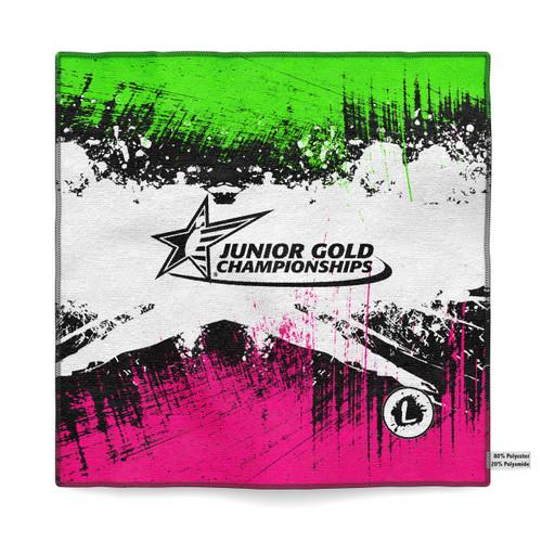 Junior Gold Dallas 2018 - Official Dye Sublimated Microfiber Towel - JG18_032MT