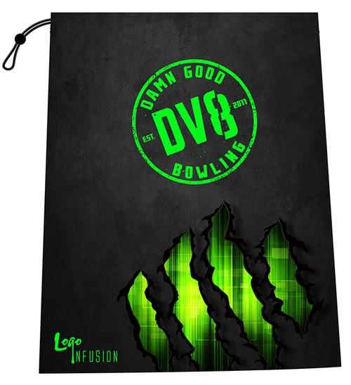 DV8 Green Claw Grunge Shoe Bag