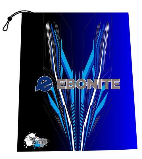 Ebonite Blue Fletching Shoe Bag