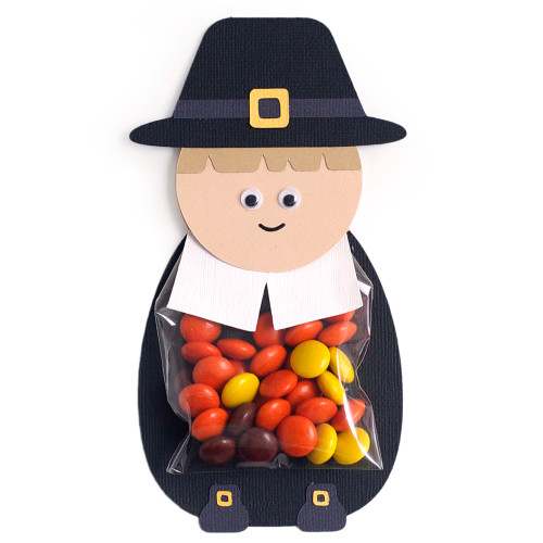 Pilgrim Boy Treat Bag