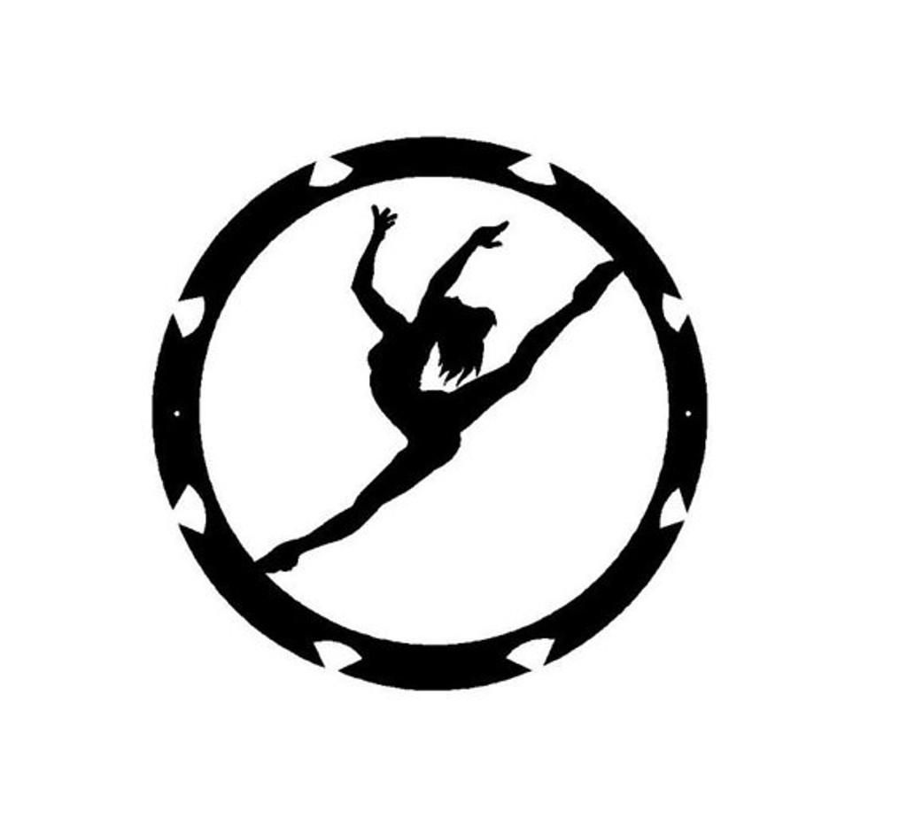 Dancer Metal Wall Art (C9)