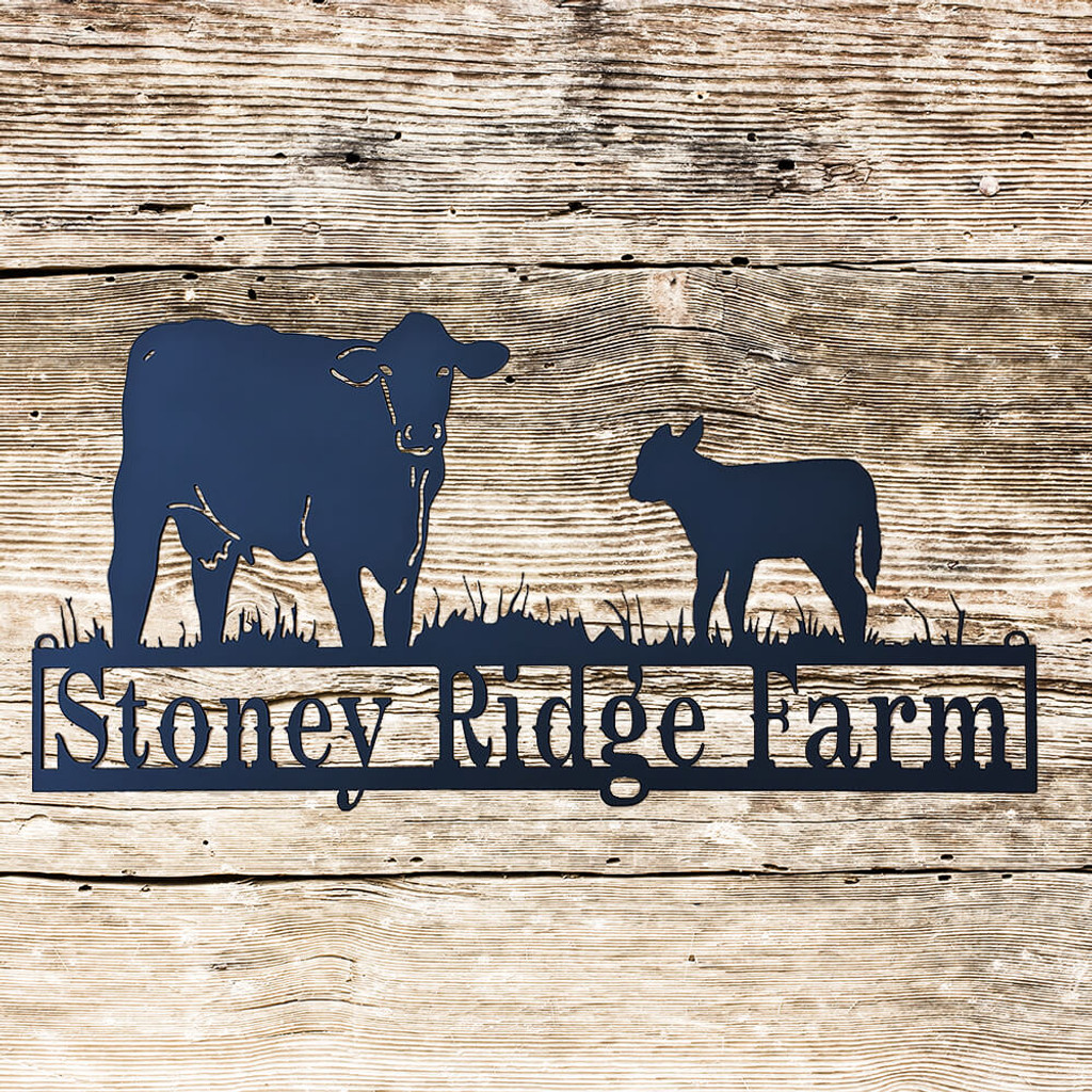 Utterly Sweet Cow Sign (W2)