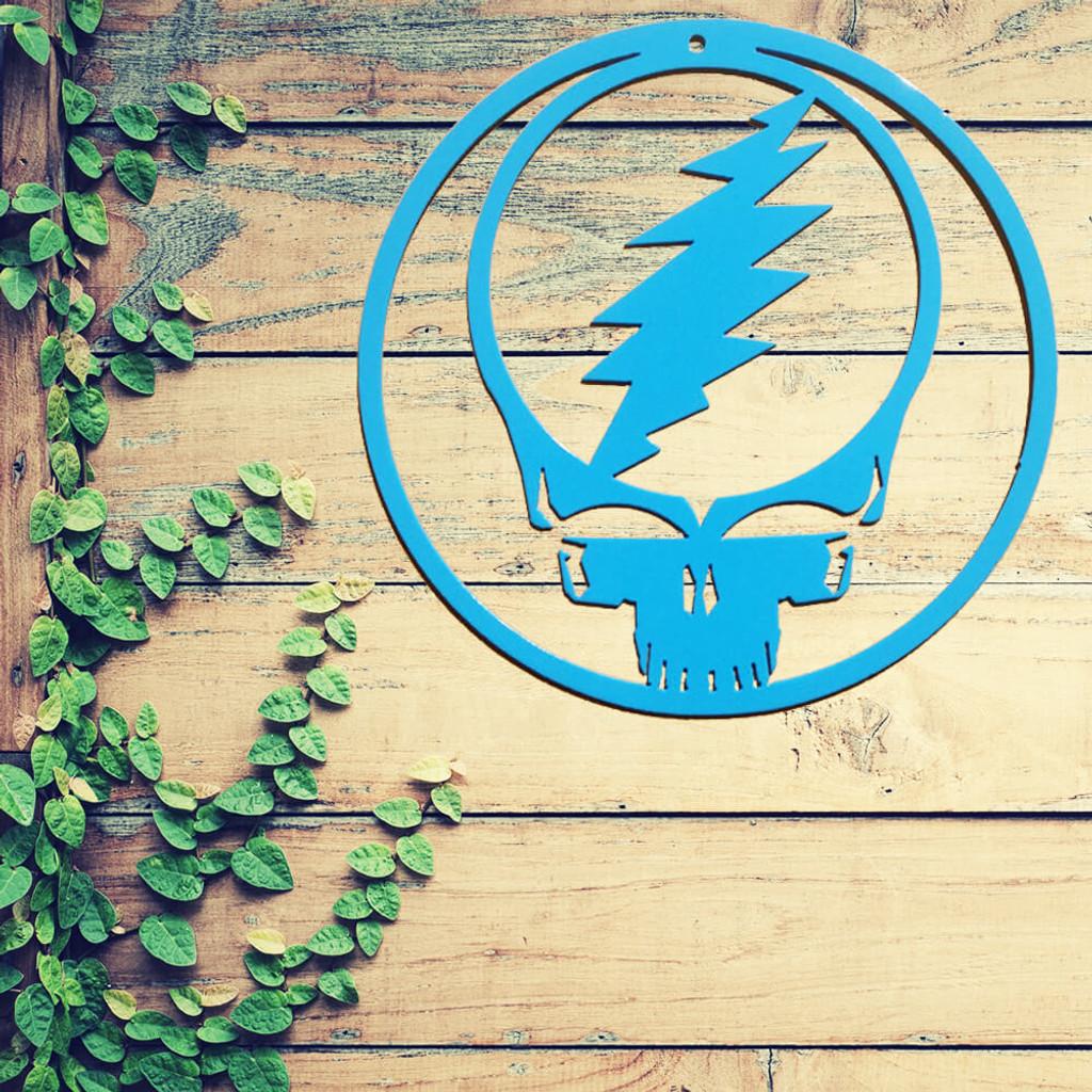 """Grateful Dead """"Deadhead"""" Wall Art (Z) - Rusty Rooster Fabrication ..."""