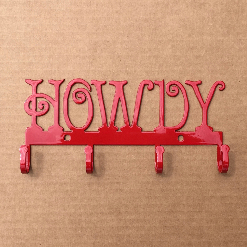 Key Holder Metal HOWDY (L10)