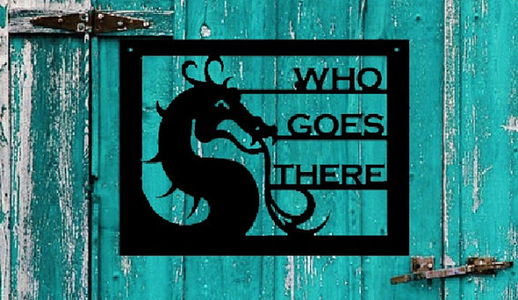 Dragon Who Goes There (N10)