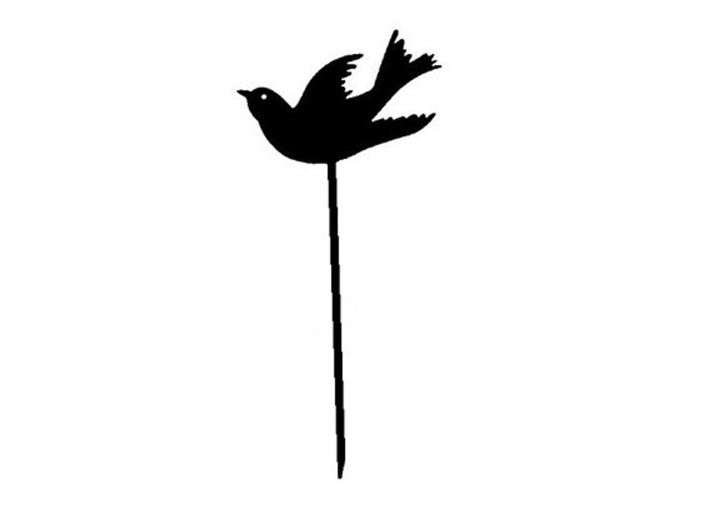 Swallow Metal Garden Stake (G0)