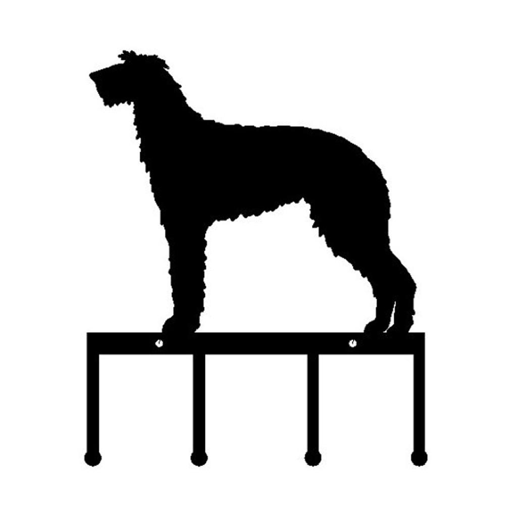 Scottish Deerhound Key Holder Metal (K26)