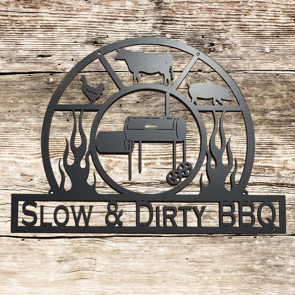 Personalized BBQ Sign (F13)