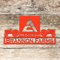 Personalized Dual Tractor – Allis-Chalmers Sign (U17)