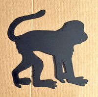 Monkey Metal Wall Art (I4)