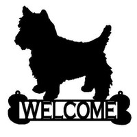 Dog Welcome Sign (W3)