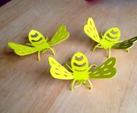 Bumble Bee Garden Figurines – Lot of 3 (X12)