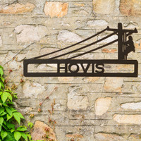 Personalized Power Lineman Sign (R24)