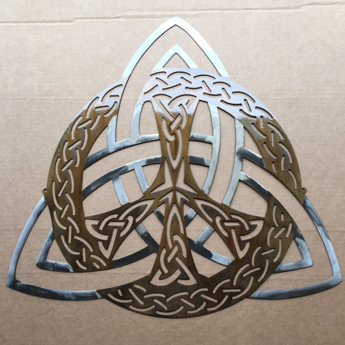 Celtic Trinity Knot Peace Sign Wall Art ()