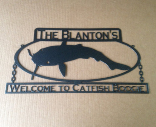Custom Catfish Sign (T4)