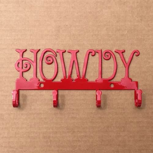Key Holder Metal HOWDY (L10)