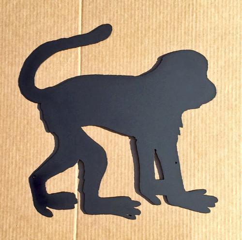 Monkey Metal Wall Art (I4)