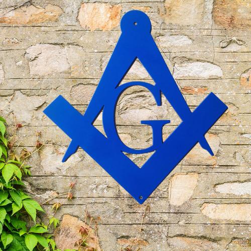 Masonic Metal Wall Sign (J5)