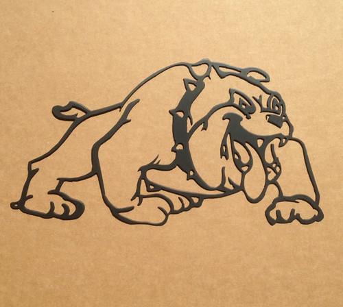 Bulldog Metal Wall Art (F1)