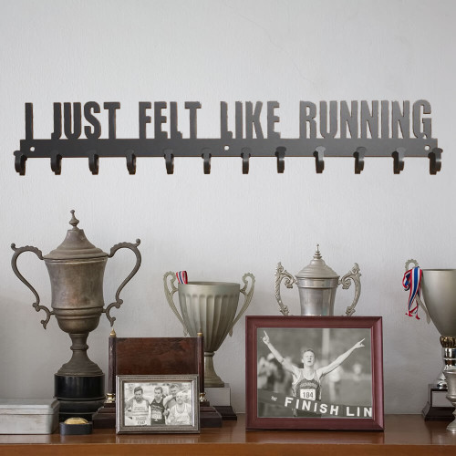 """I Just Felt Like Running"" Hanging Rack (P24)"