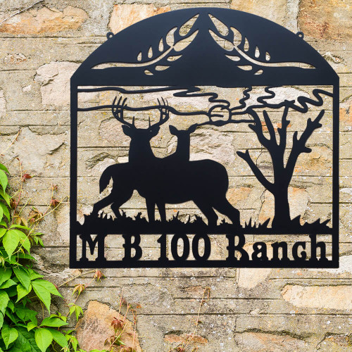 King & Queen of the Forest Ranch Sign (Q24)