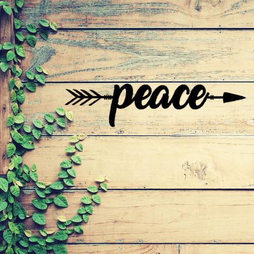 Peace Arrow Wall Art (C29)
