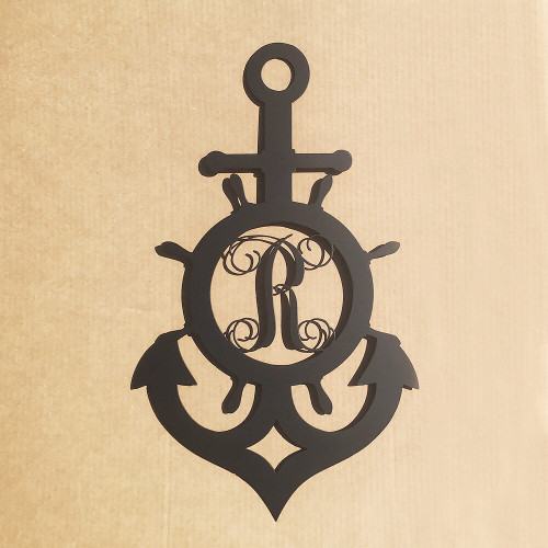 Why Should You Buy Our Ship Wheel and Anchor Monogram?