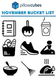 Ultimate November Bucket List