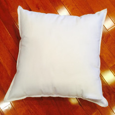"9"" x 9"" 25/75 Down Feather Pillow Form"