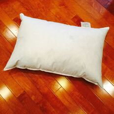 "10"" x 20"" Synthetic Down Pillow Form"