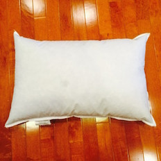 "15"" x 26"" 10/90 Down Feather Pillow Form"