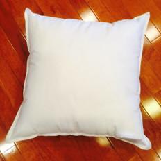 "17"" x 17"" Eco-Friendly Non-Woven Indoor/Outdoor Pillow Form"