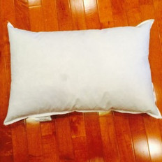 "11"" x 21"" Eco-Friendly Non-Woven Indoor/Outdoor Pillow Form"