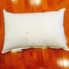 "19"" x 30"" Polyester Non-Woven Indoor/Outdoor Pillow Form"