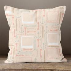Pink Memories of Love Throw Pillow