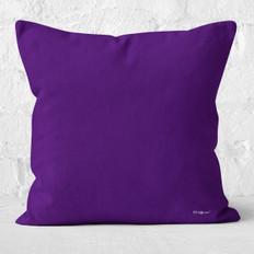 Dark Purple Throw Pillow