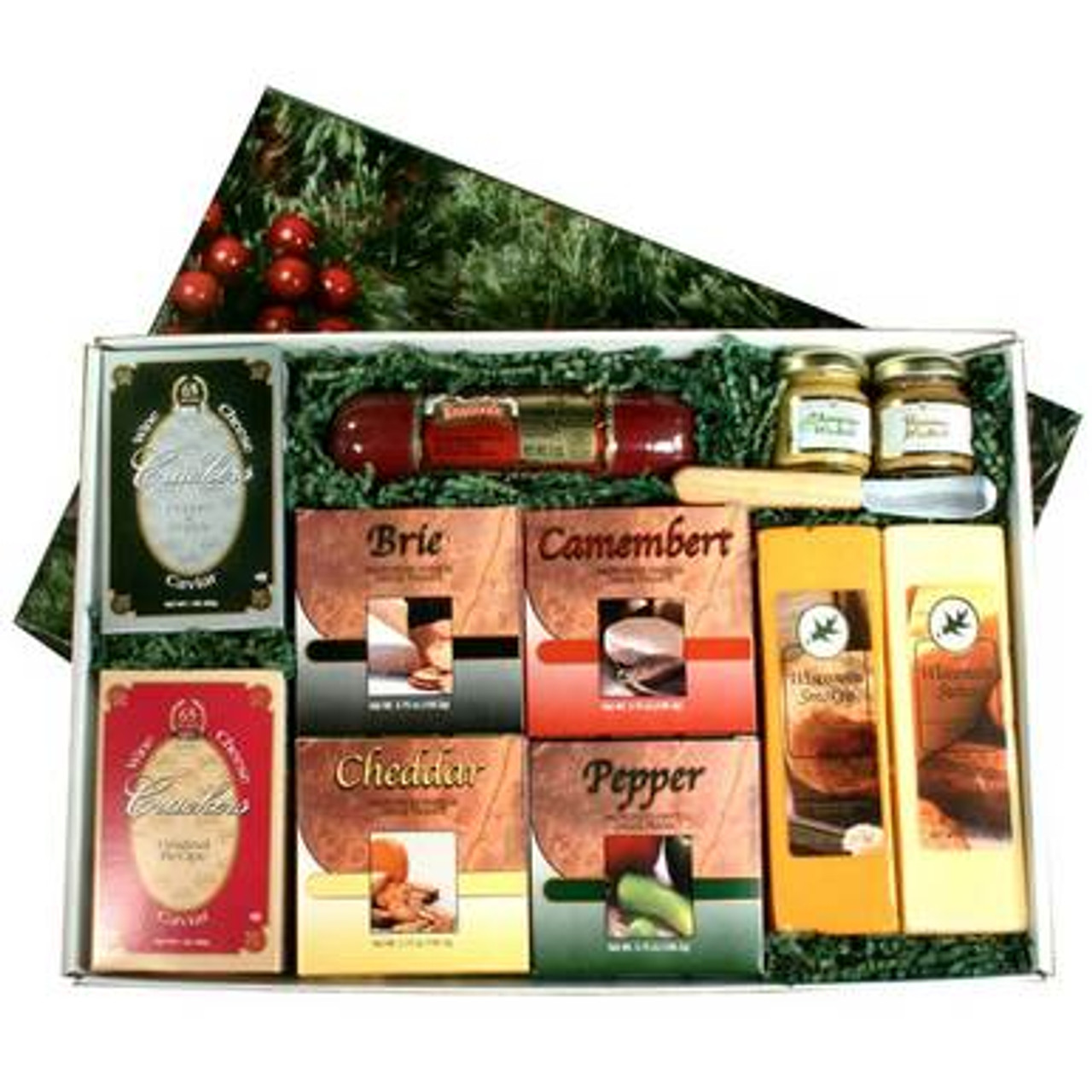 Holiday Pleasures Cheese Gift Box | Northwoods Cheese Company