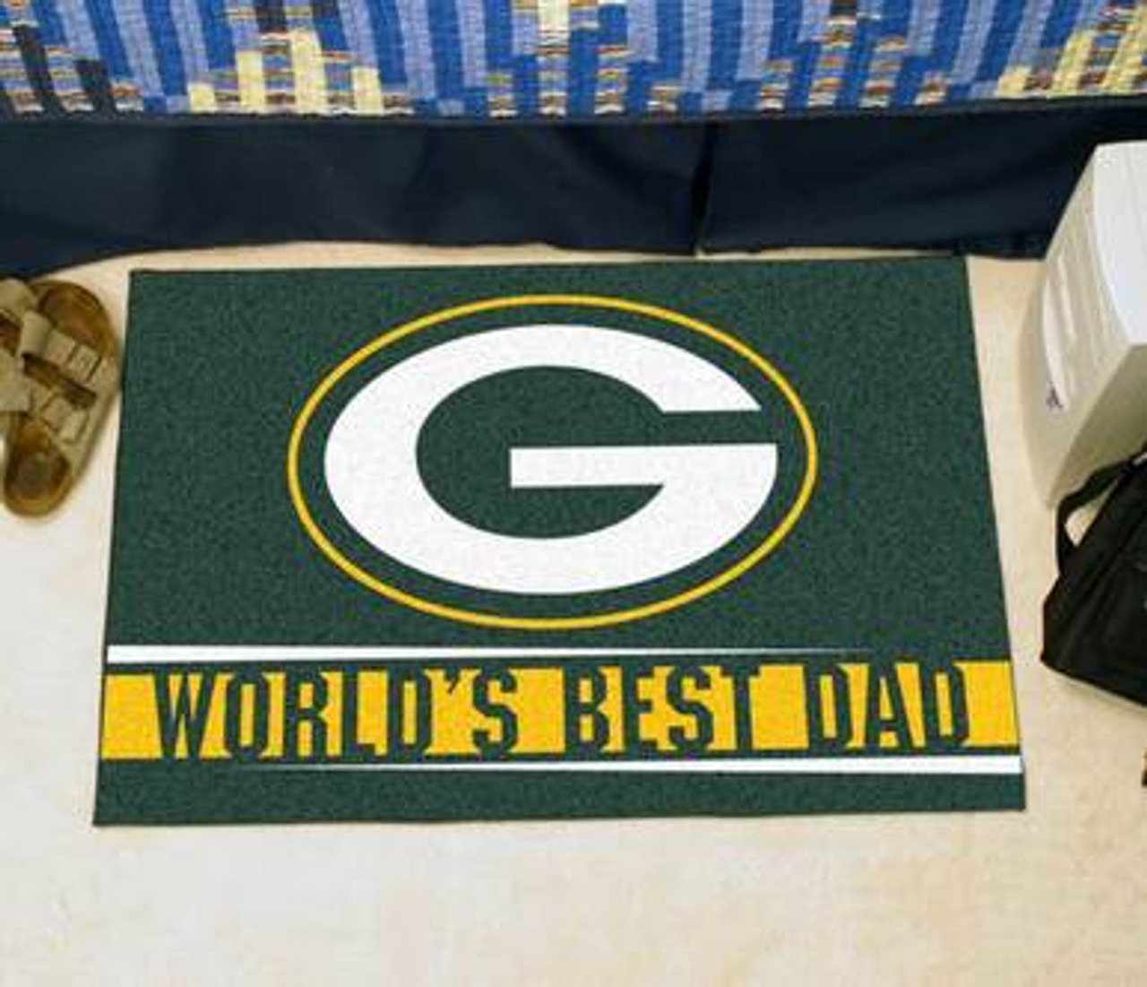 Packers Best Dad Floor Mat | Sports Licensing Solutions