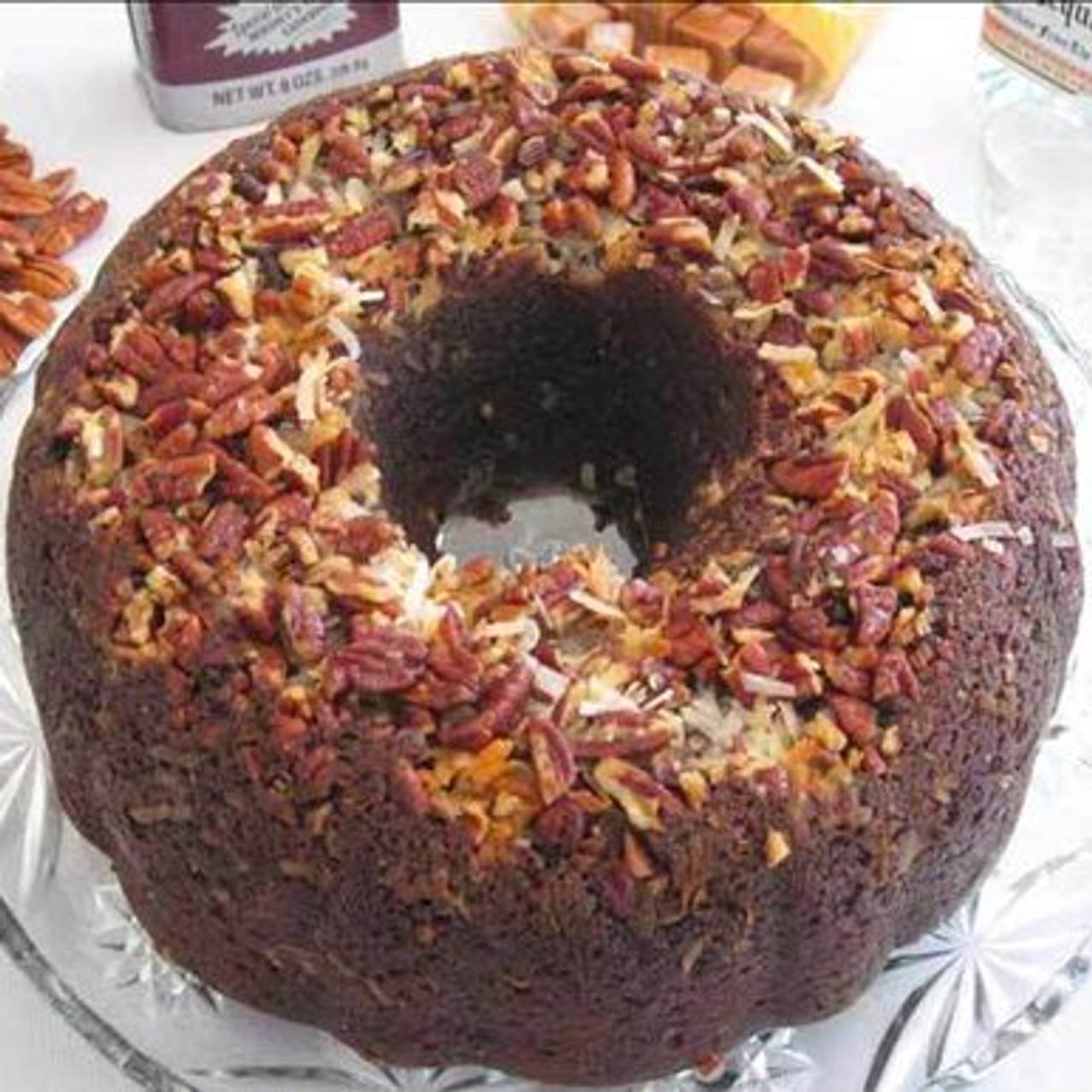 German Chocolate Cake with Caramel Vodka | STF Enterprises