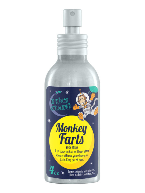 Bare Naked Lady Spray Monkey Farts