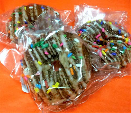 Bath Bomb Doughnut Chocolate