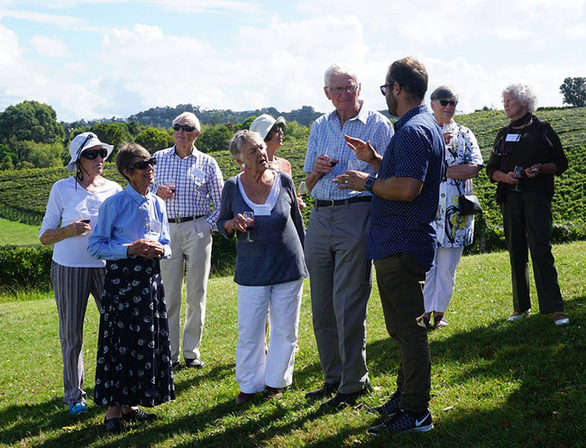 University Society Members visit Goldie