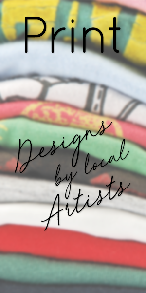 Designs by local Artists