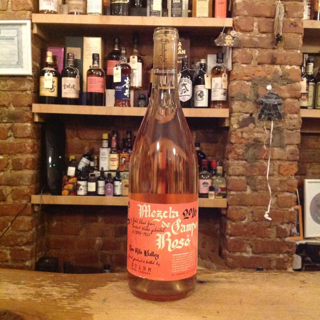 Stirm Wine Co., Lime Kiln Valley Mezcla de Campo Los Chuchaquis Rosé (2016)