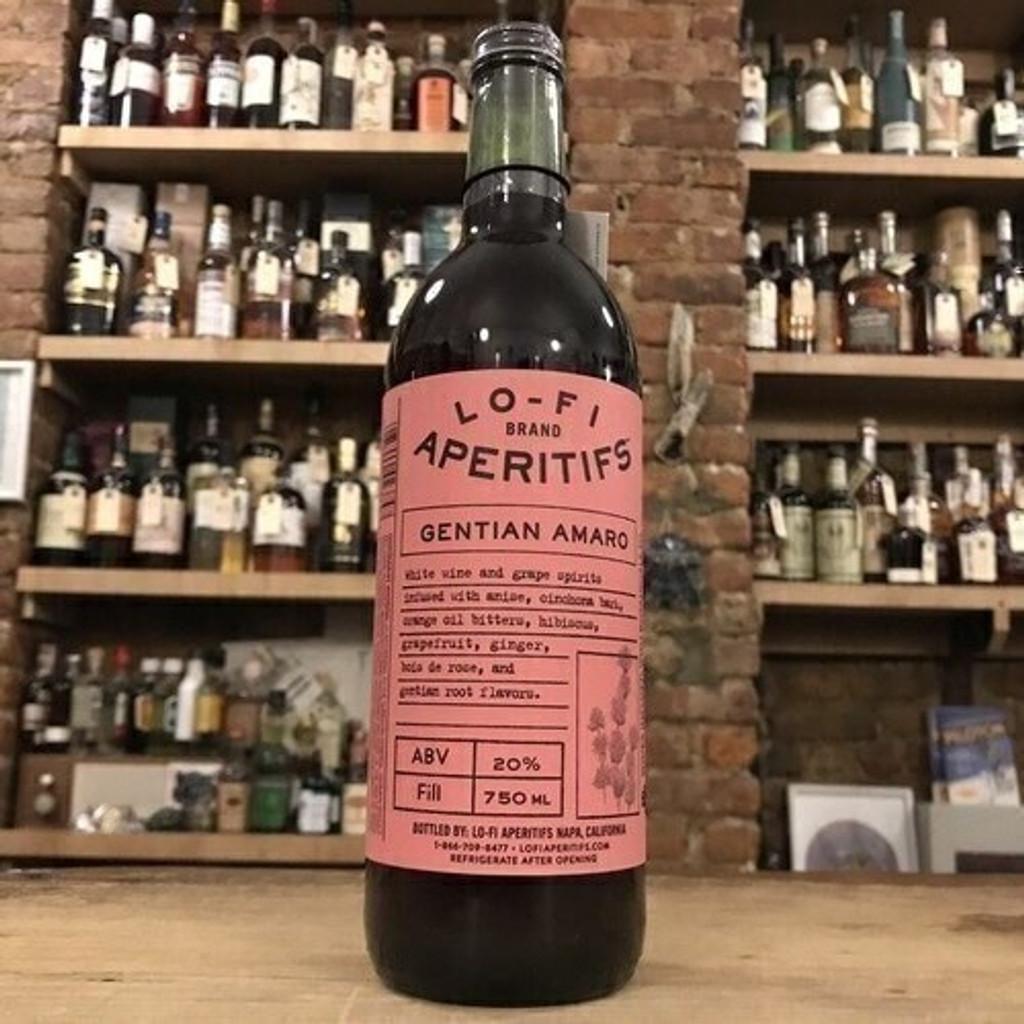 Lo-Fi Aperitifs, Gentian Amaro