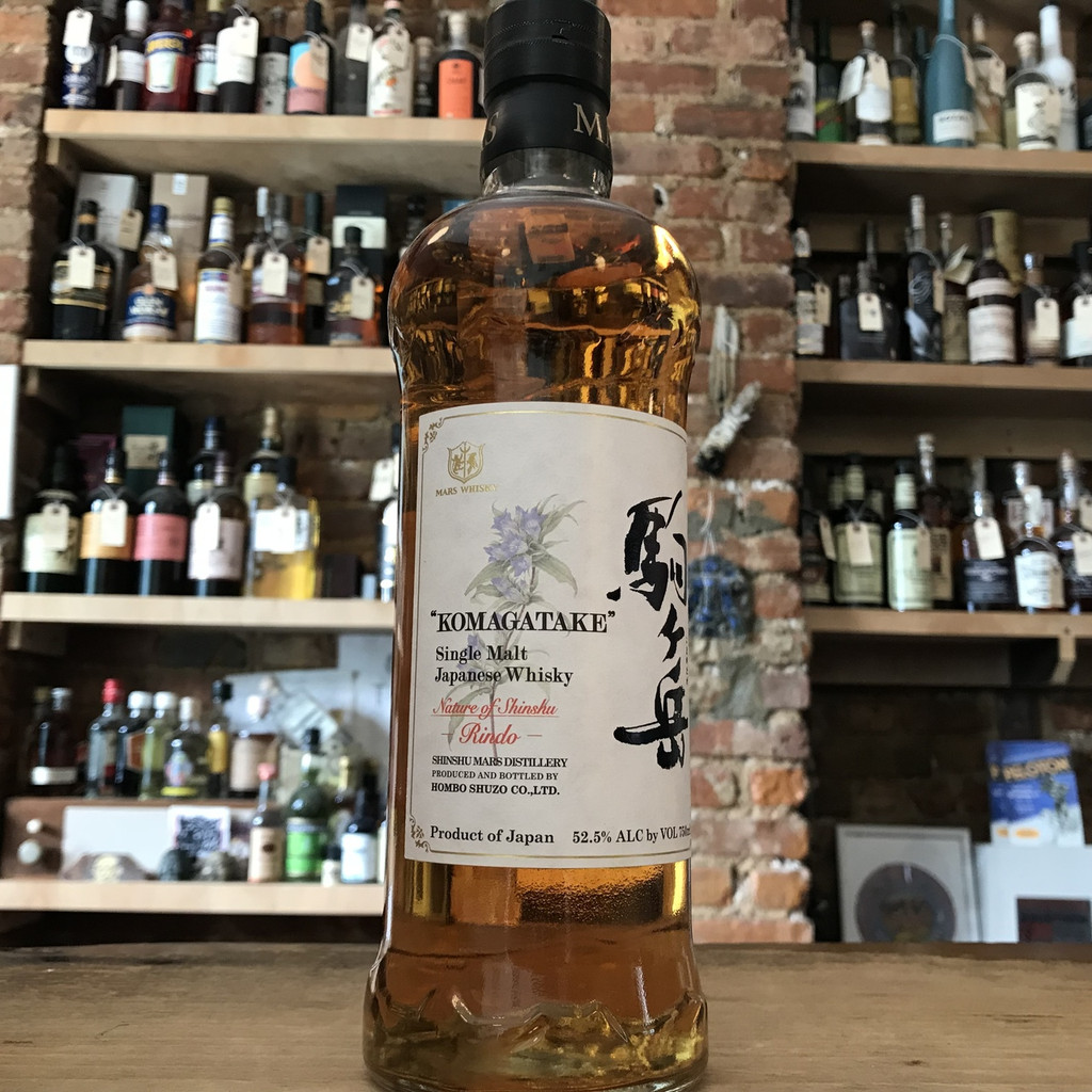 Hombo Shuuzo Co., Mars Single Malt Japanese Whisky Komagatake Rindo